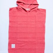 Watermelon Luxe Stonewashed Kids Poncho