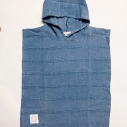 Ocean Luxe Stonewashed Kids Poncho