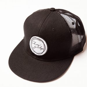 Signature Black Mesh Snap Back
