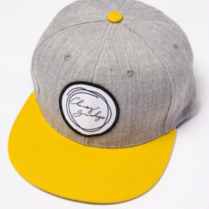 Mustard and Grey Signature Hat